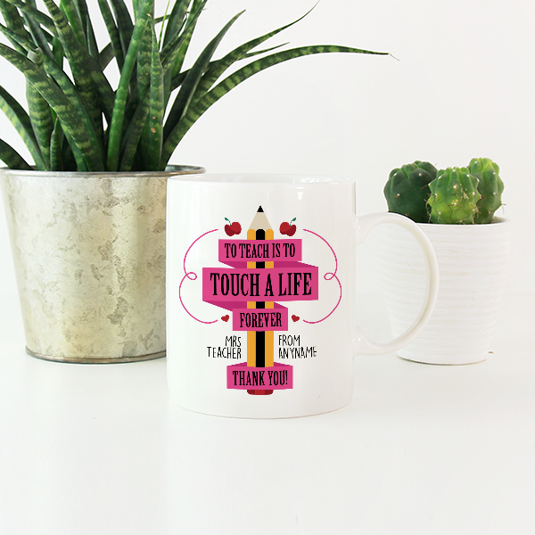 Teacher Thank You Gift Mugs